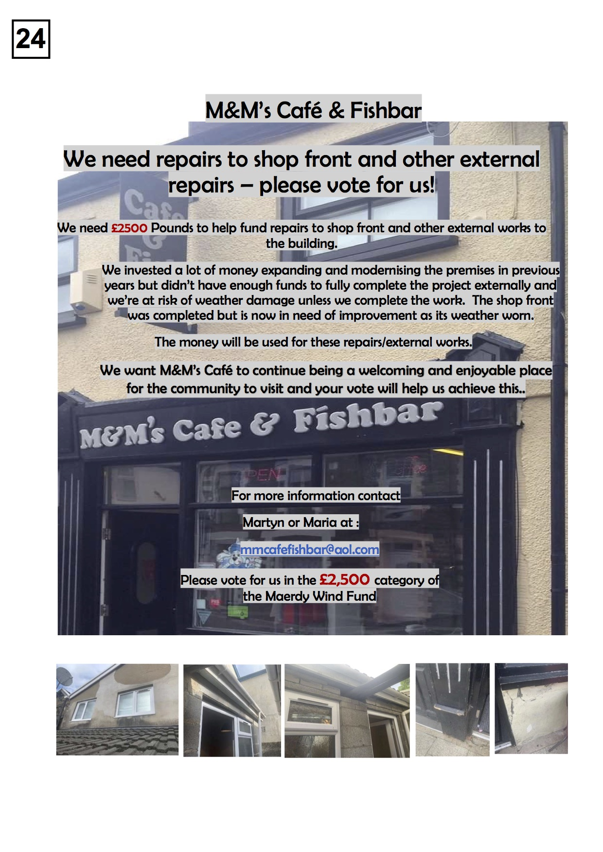 24. M&Ms Fishbar - Poster - 50719