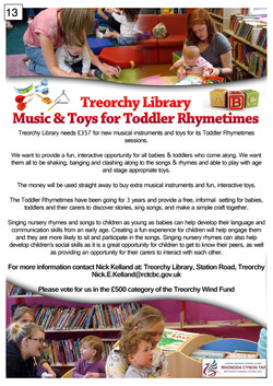 13._Treorchy_Library_-_Poster_(English)_£500_-_300917