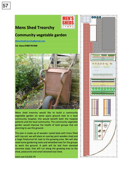 57. Mens Shed Treorchy - poster - 300917