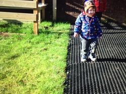 Matting playground photo