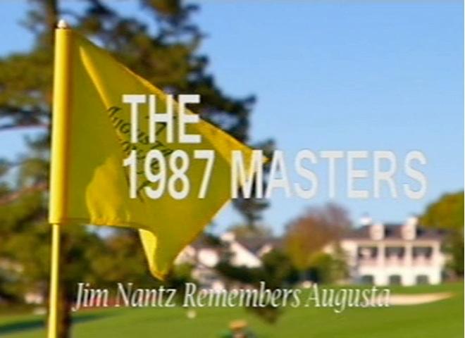 Jim Nantz Remembers: 1987 Masters