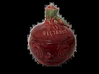 Sylvac Beetroot face Pot no 4553