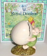 Royal Doulton Winnie the Pooh Piglet & The Balloon WP5