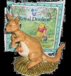 Royal Doulton Winnie the Pooh Kanga & Roo WP8