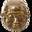 Thumbnail: Large Brass Four Faced Buddha
