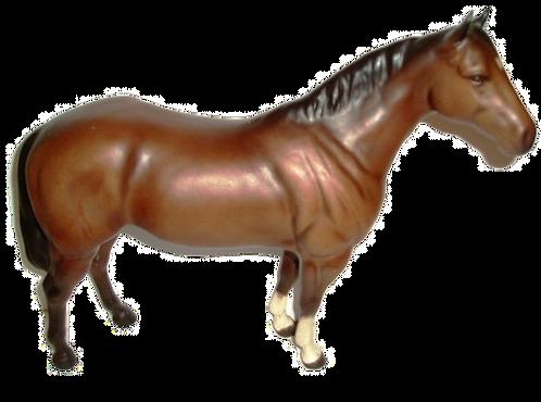 Beswick Quarter Horse 2186 Brown matt