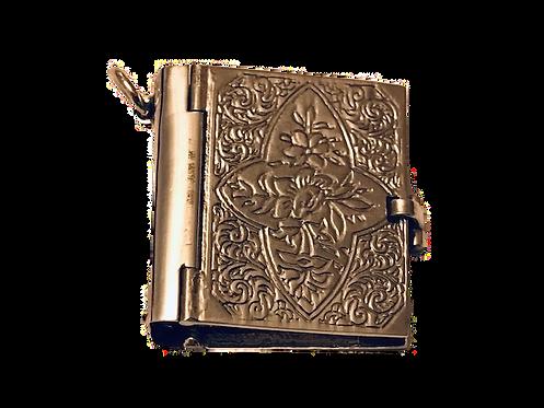 925 Silver Folding Book Photo Album