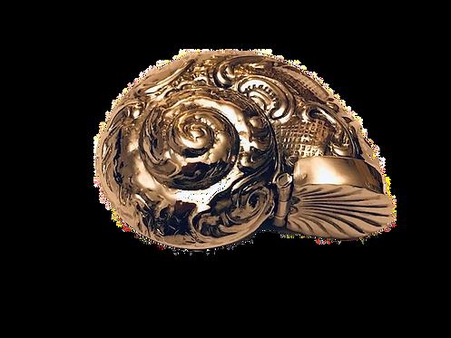 925 Silver Conch Shell Vesta