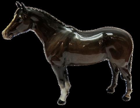 Beswick Thoroughbred Stallion (Large) 1771 Brown Gloss
