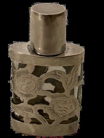 Sterling Silver Overlaid Perfume Bottle