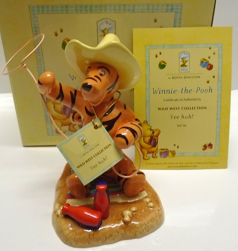 Royal Doulton Winnie the Pooh Wild West Collection Yee Hah! WP 90