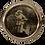 Thumbnail: HM Silver Round Photo Frame, London C1868