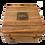 Thumbnail: Boxed Reproduction J Steward Compass