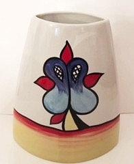 Lorna Bailey Tall Lakeside Purse vase