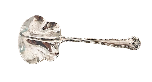 HM Silver Unusual Jam Spoon, Birmingham 1883