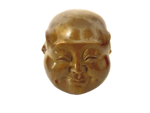 Medium Brass Four Faced Buddha