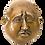 Thumbnail: Small Brass Four Faced Buddha