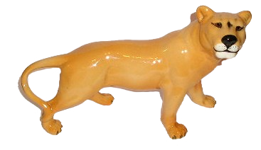 Beswick Lioness Facing Right No 2097