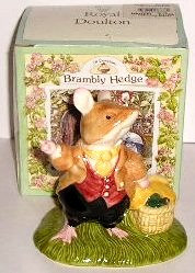 Royal Doulton Brambly Hedge Lord Woodmouse Style Two DBH 31