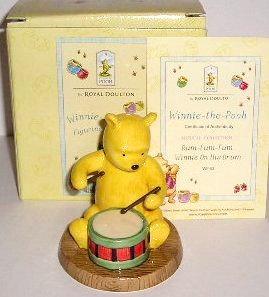 Royal Doulton Winnie the Pooh Rum-Tum-Tum Winnie On His Drum WP 63