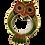 Thumbnail: Owl Magnifying Glass on Gilt Chain