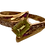 Thumbnail: 9k Gold Peridot & Diamond Ring Size N/O