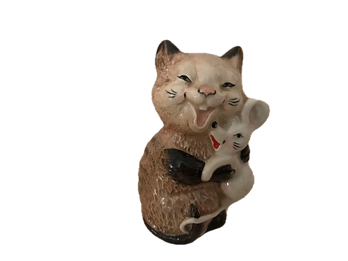 Beswick Cat with Mouse No 2100