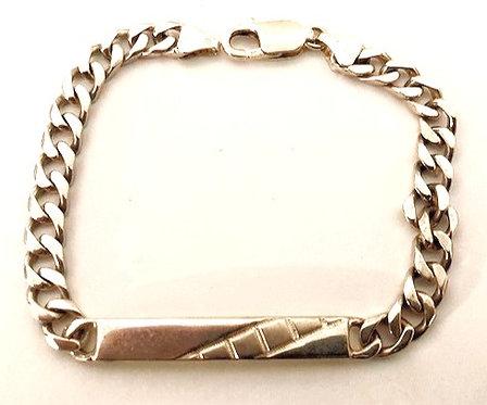 925 Silver Identity Bracelet