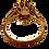 Thumbnail: 9ct Gold Opal & Tanzanite Stones Ring Size O/P