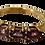 Thumbnail: 9ct Gold Amethyst & Diamond Ring Size N