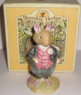 Royal Doulton Brambly Hedge Dusty Dogwood DBH 6