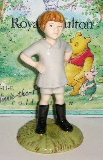 Royal Doulton Winnie the Pooh Christopher Robin WP9