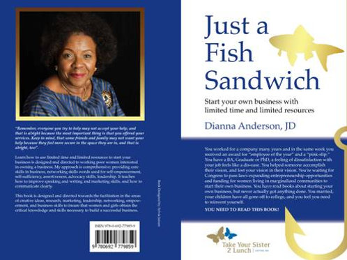 """""""Just a Fish Sandwich"""" – The new book by Dianna Annderson, JD"""