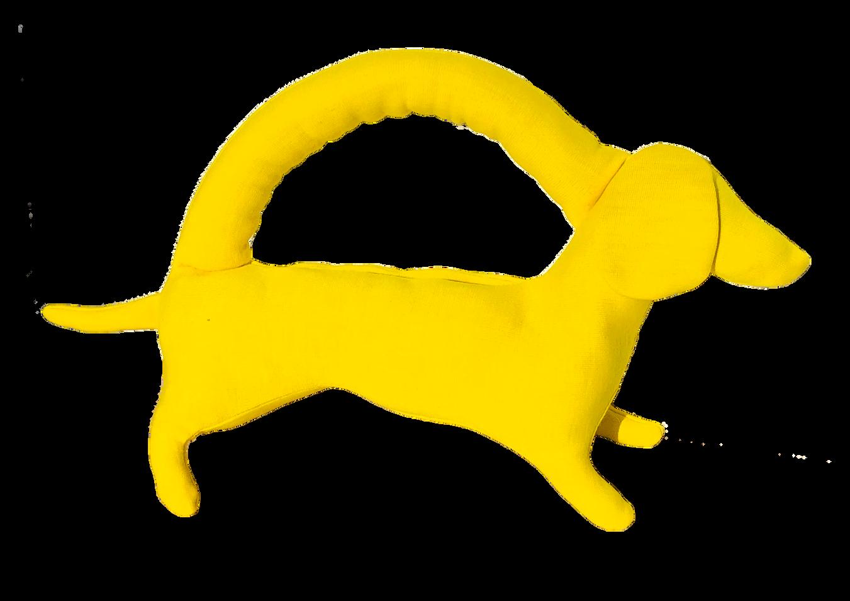 mini yellow dog