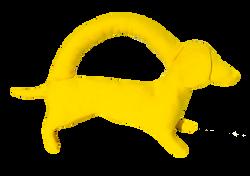 Mini yellow dog copy