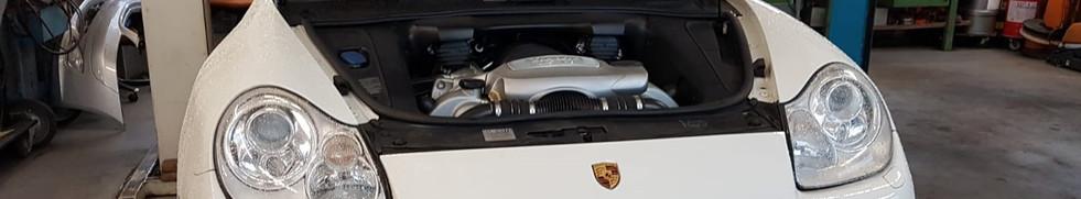 Porsche Cayenne - Schadenaufnahme