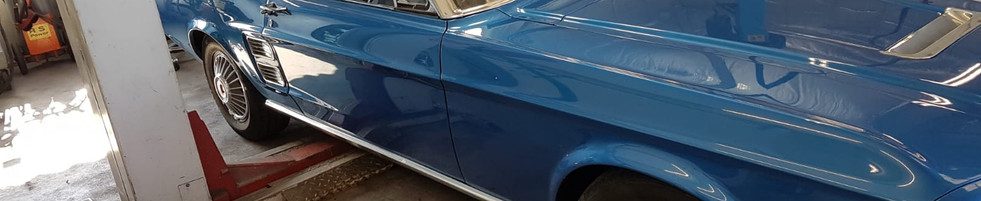 Ford Mustang - Schadenaufnahme