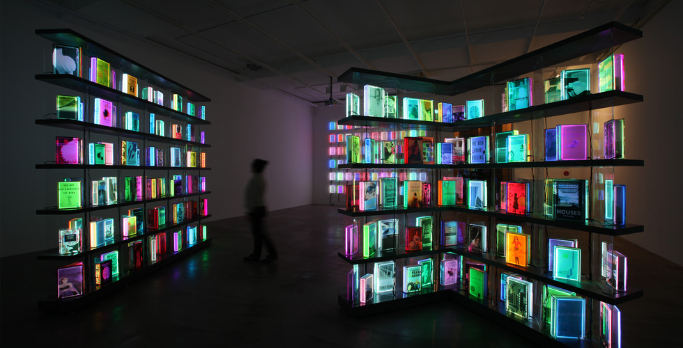 Installation view of solo exhibition The Luminous Poem, Gallery Simon, Seoul, 2011