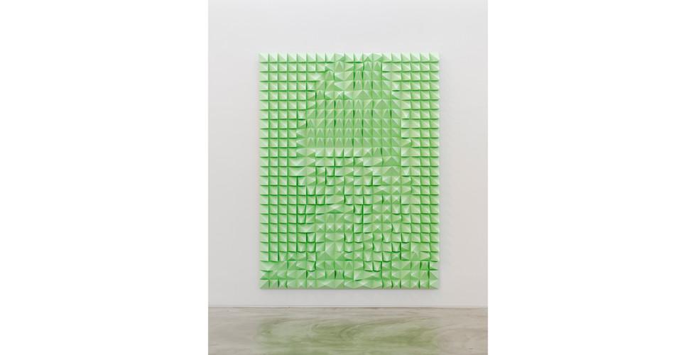 Silent Sejong, 2021, EVA foam, 190 x 250 x 10cm