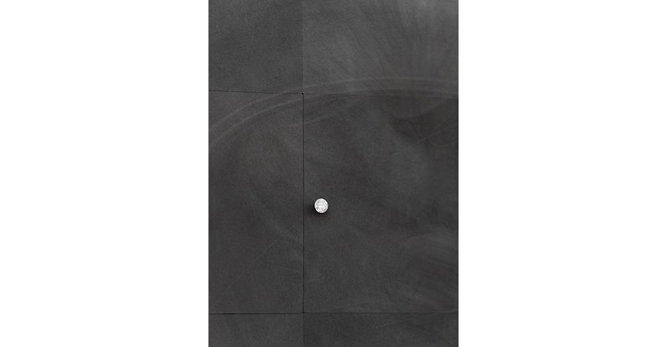 A Natural Element ? C (detail), Graphite, diamond, mixed media, 120.5 x 150.5 x 7.5cm, 2019