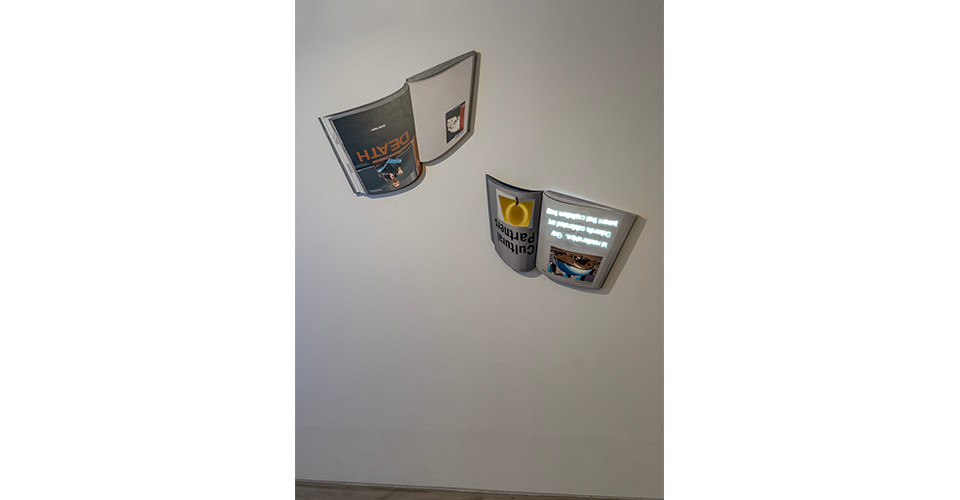 Installation view of Room of Concern, Gallery Simon, 2020