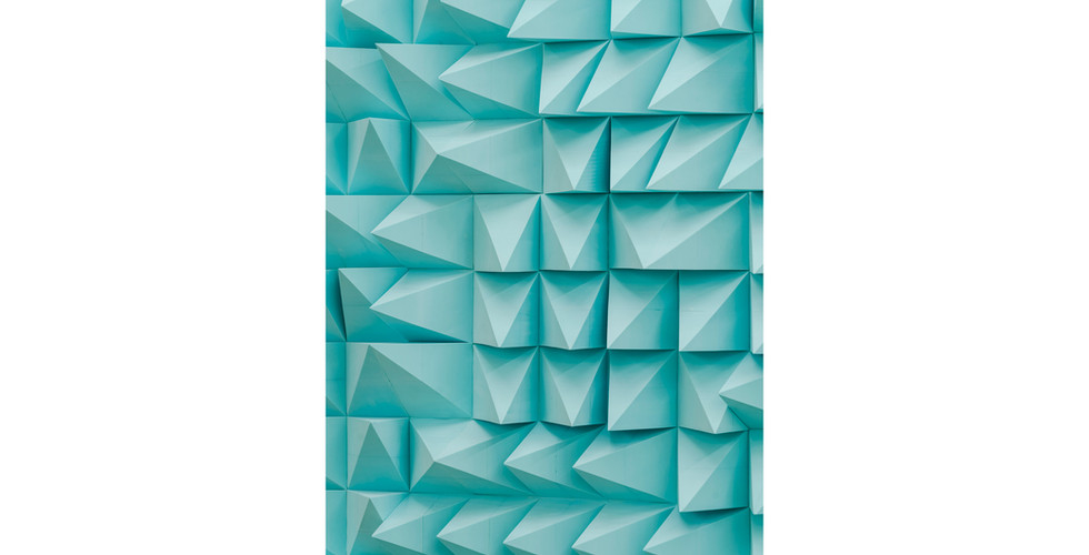 Silent Franklin-II, 2021, EVA foam, 420 x 180 x 10cm (detail)