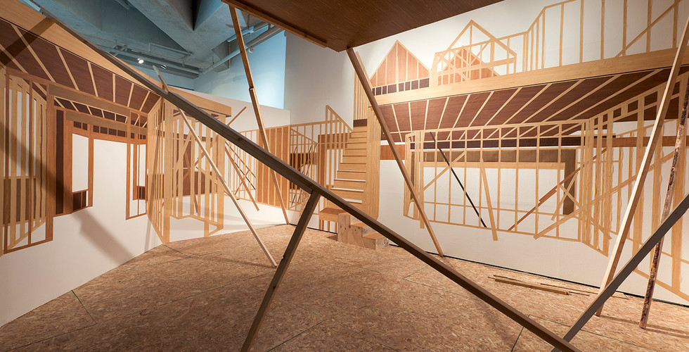 Installation view of Developer's House, 2010, alternative Space Loop, Seoul