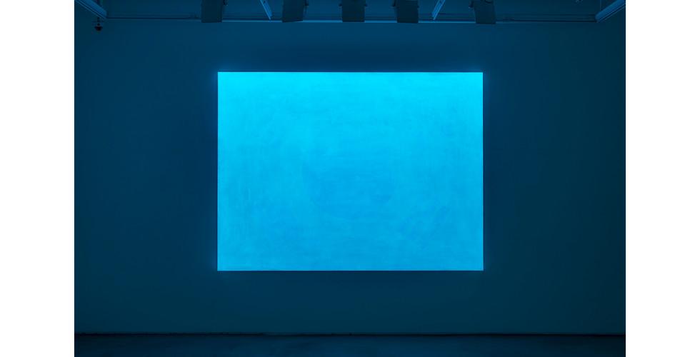Taegeukgi, 2020, acrylic & phosphorescent pigment on linen, 194 x 259 cm