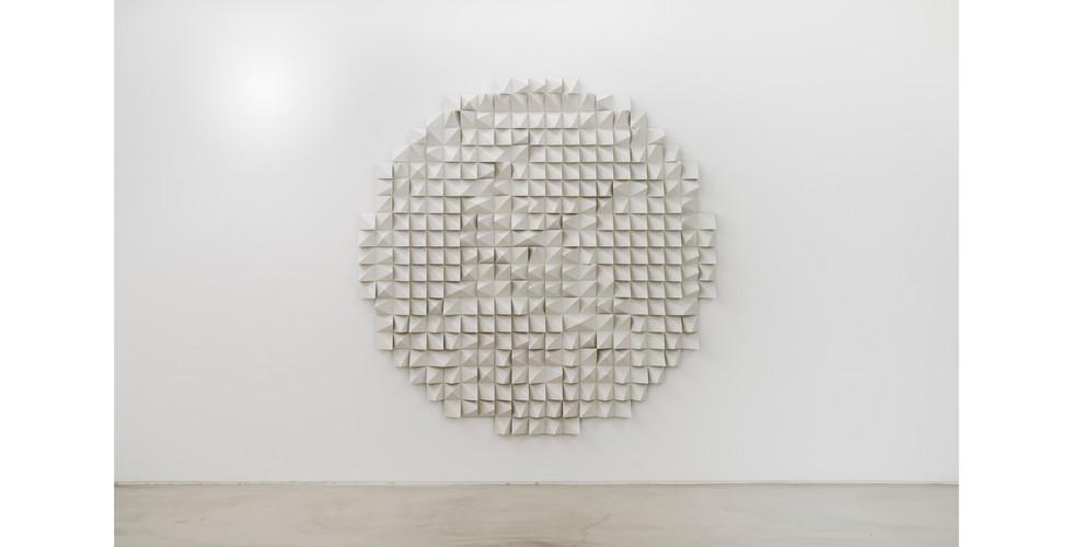 Silent Crane, 2021, EVA foam, 210 x 210 x 10cm