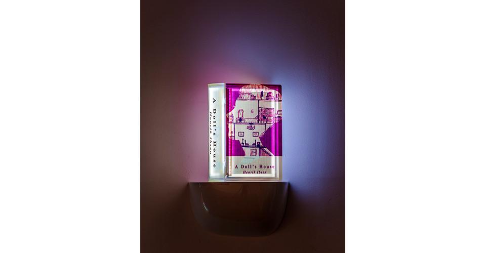 A Doll's House, 2020, LED Lighting Book, 13.5 x 20 x 7 cm