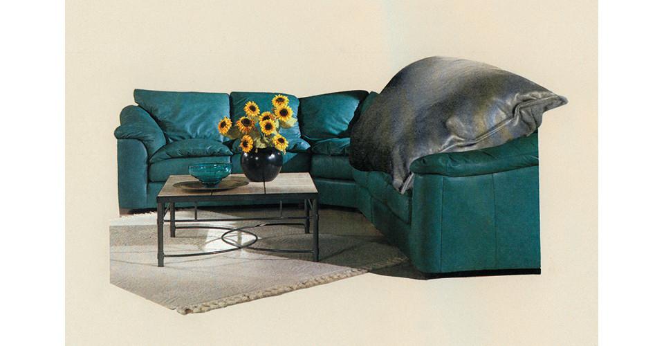 interior scheme (Sunflowers), 1996, iris print, 18 x 24