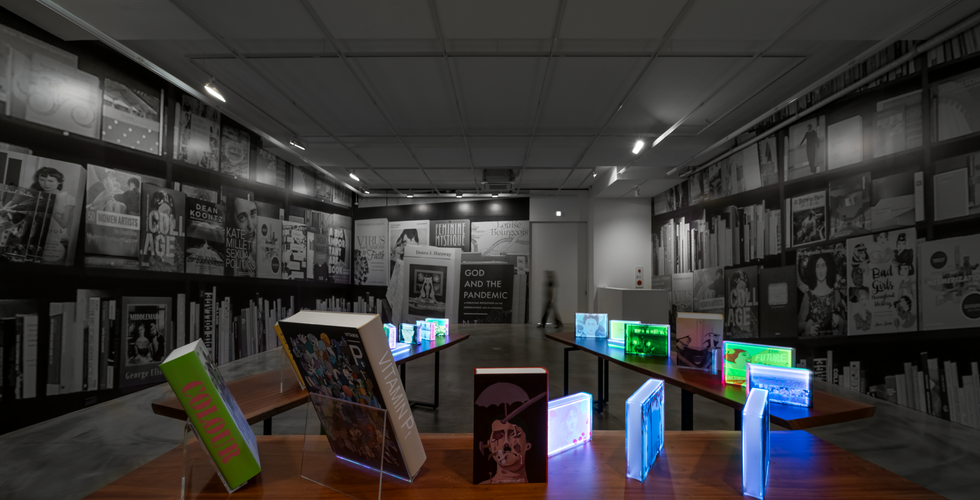 Installation view of Room for Reflection, Gallery Simon, 2020