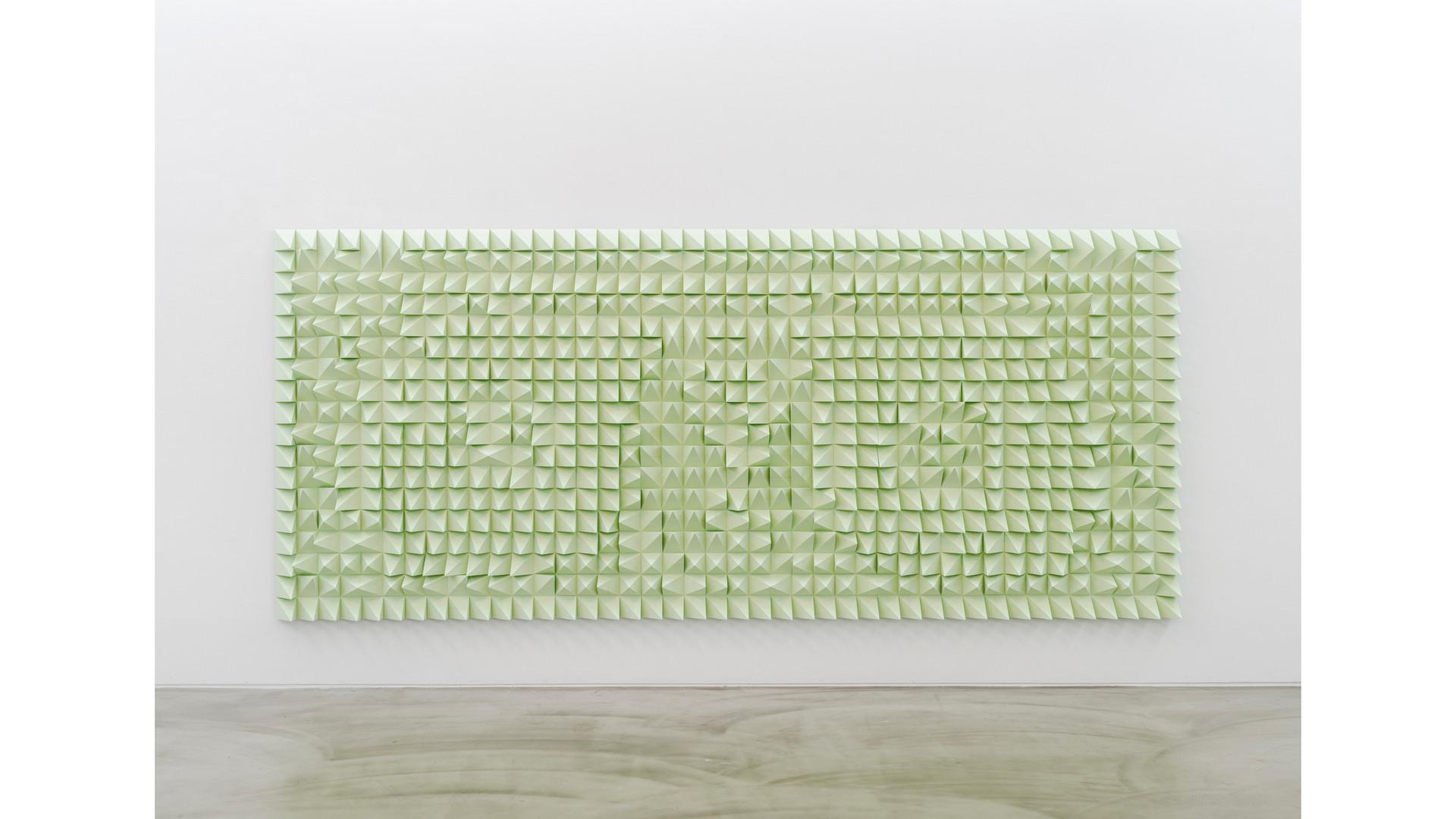 Silent Washington, 2021, EVA foam, 420 x 180 x 10cm