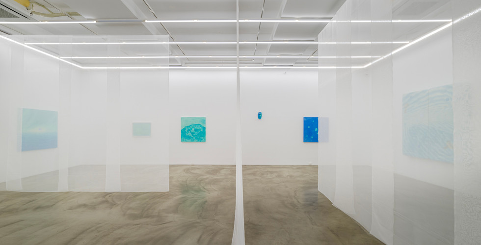 Installation view of Daydreamer's Tears, Gallery Simon, 2020